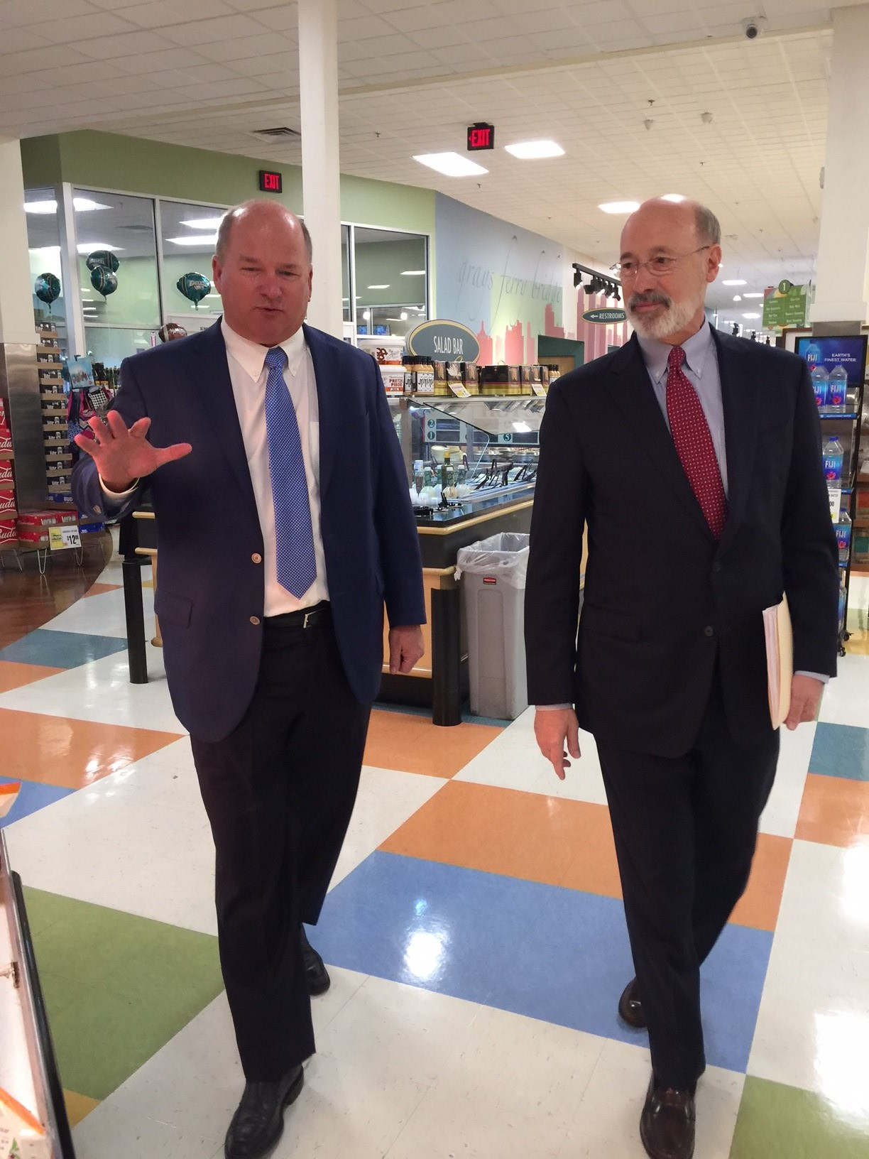 Gov Wolf Pat Burns