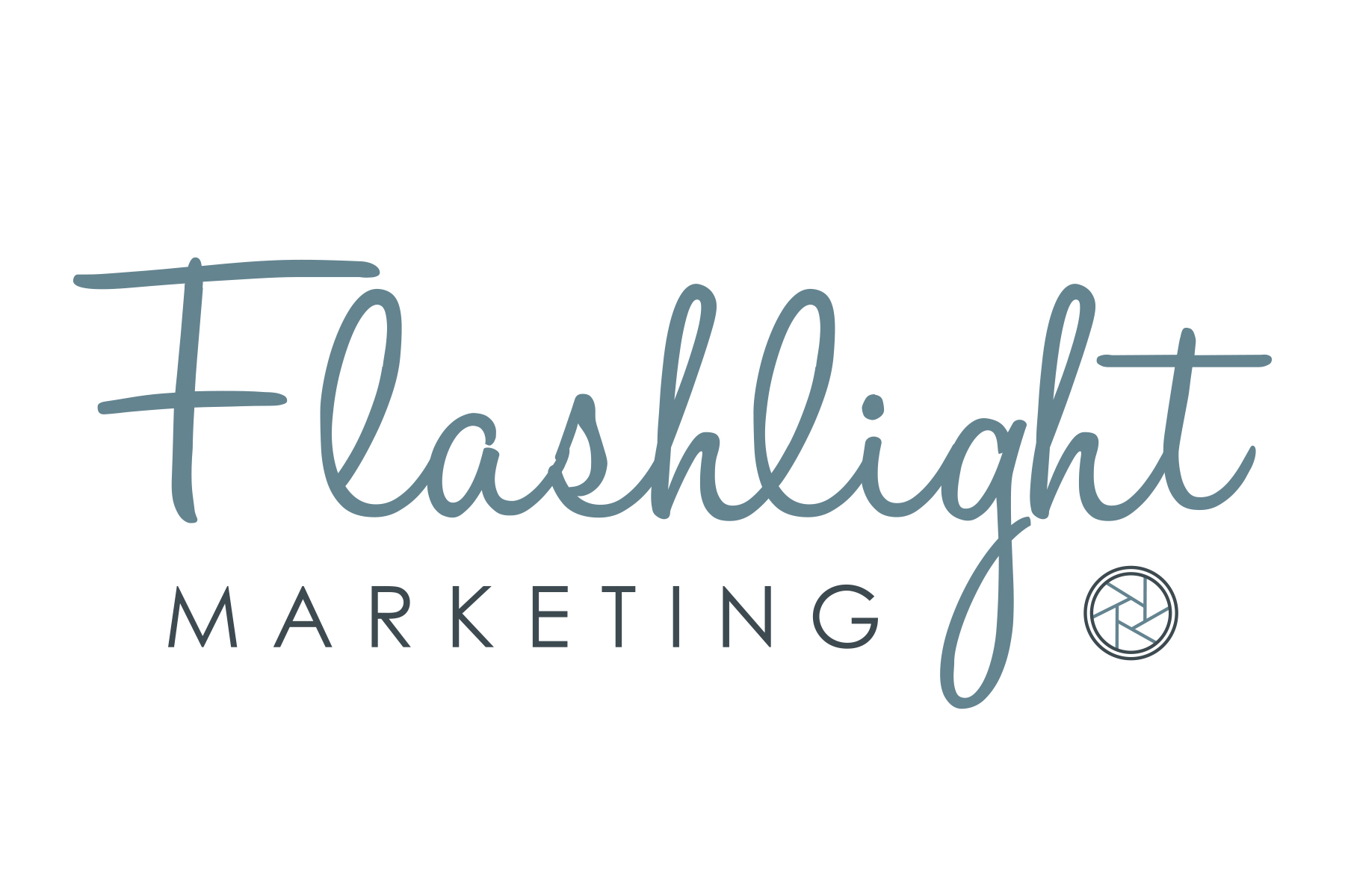 Flashlight Marketing Logo